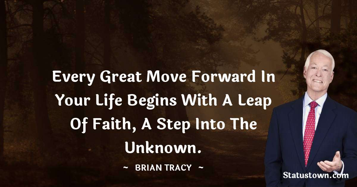 Brian Tracy Positive Thoughts