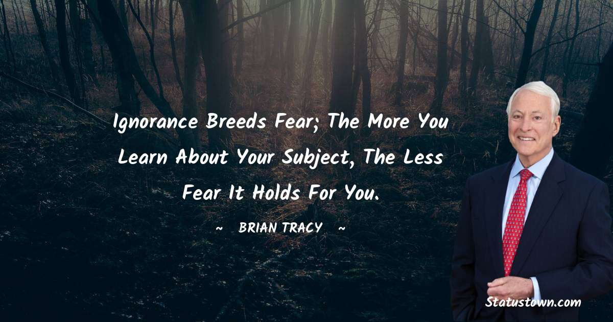 Brian Tracy Positive Quotes