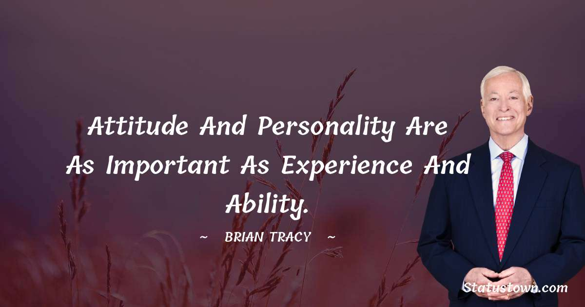 Brian Tracy Thoughts
