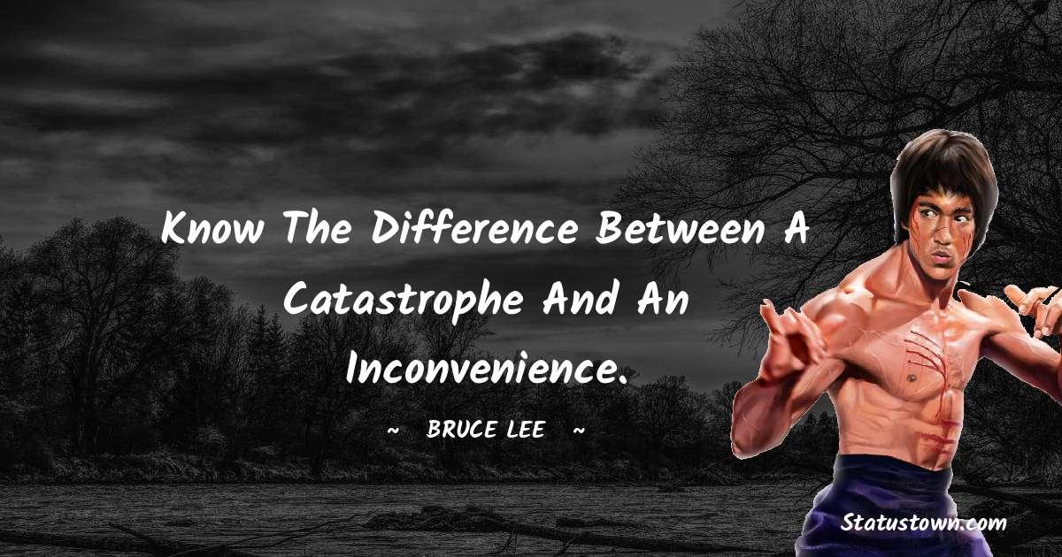 Bruce Lee  Unique Quotes