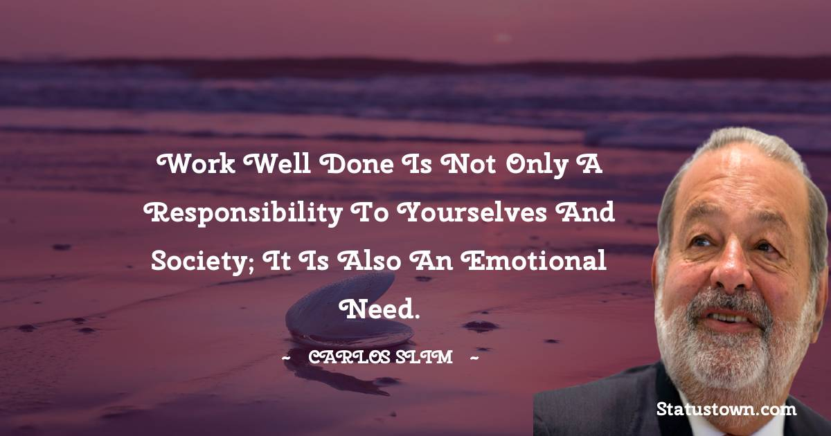Carlos Slim Positive Thoughts