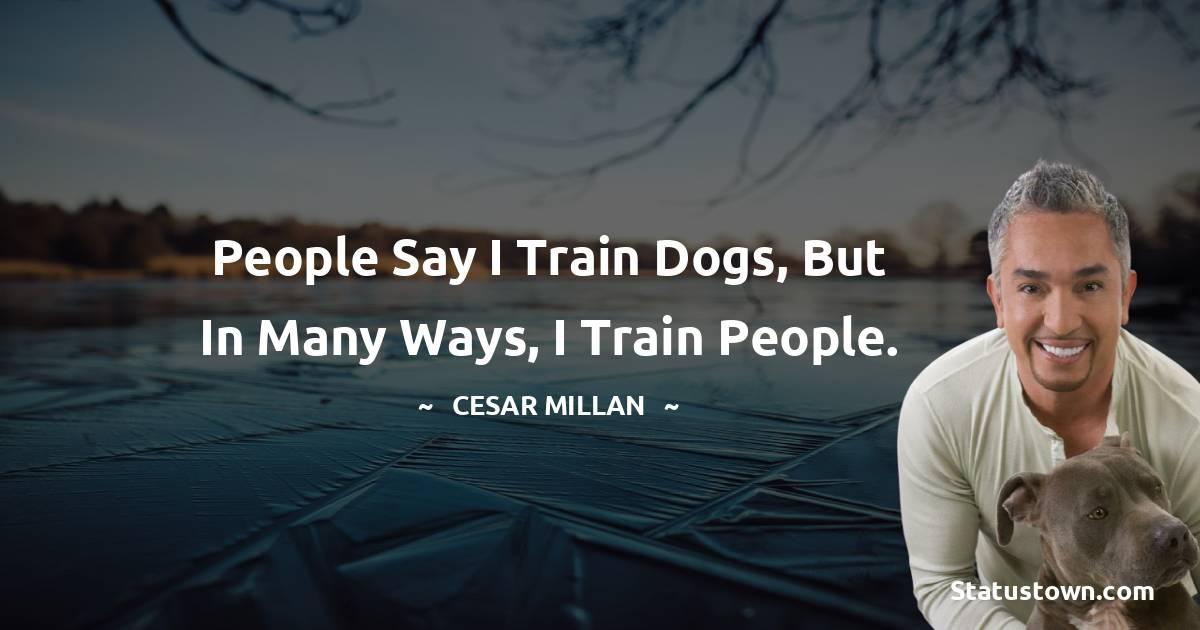 Cesar Millan Short Quotes