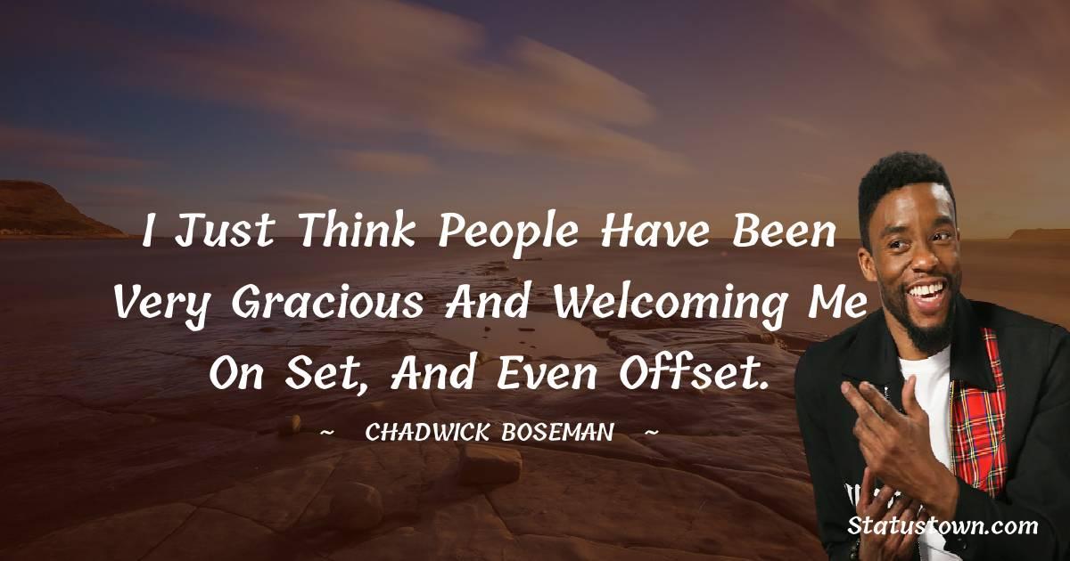 Chadwick Boseman Status