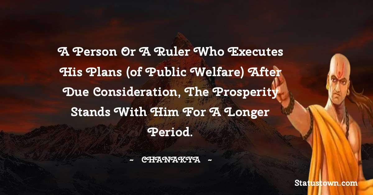 Chanakya  Unique Quotes