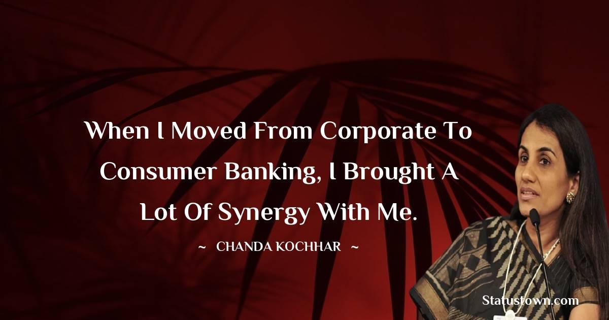 Chanda Kochhar Inspirational Quotes