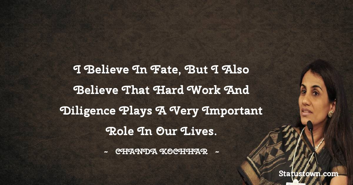 Chanda Kochhar Thoughts