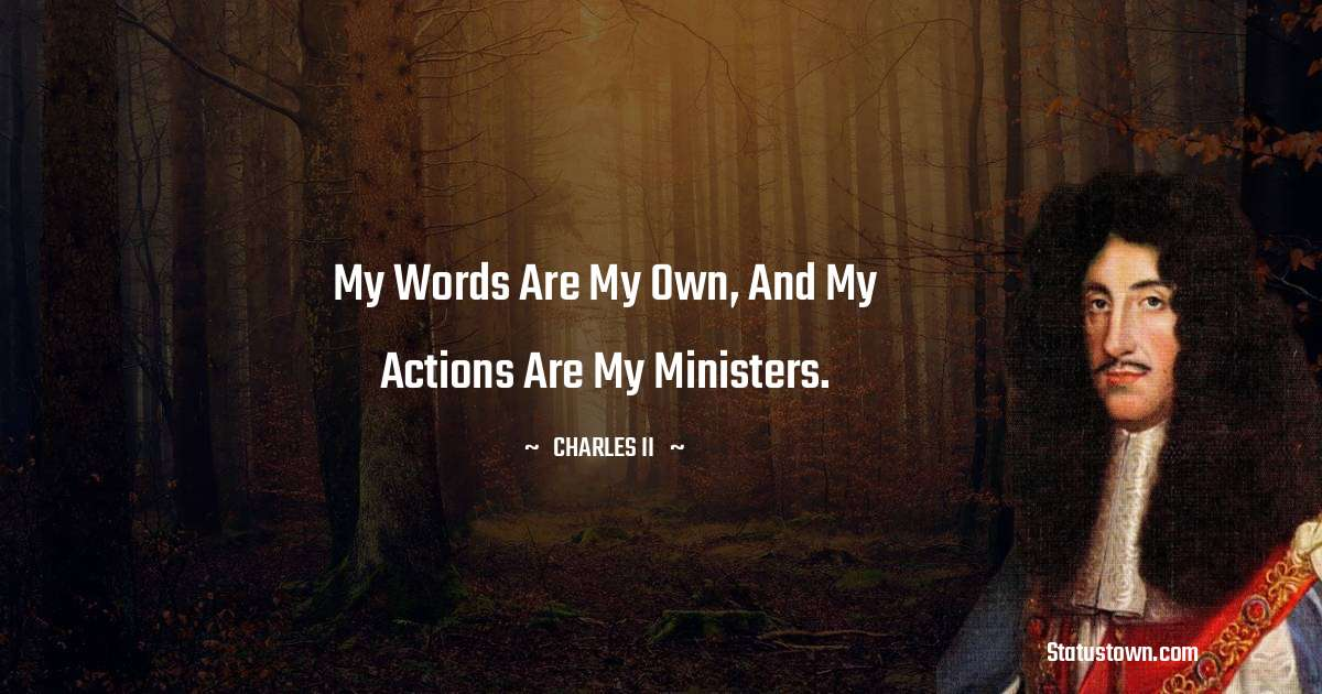 charles ii  Motivational Quotes