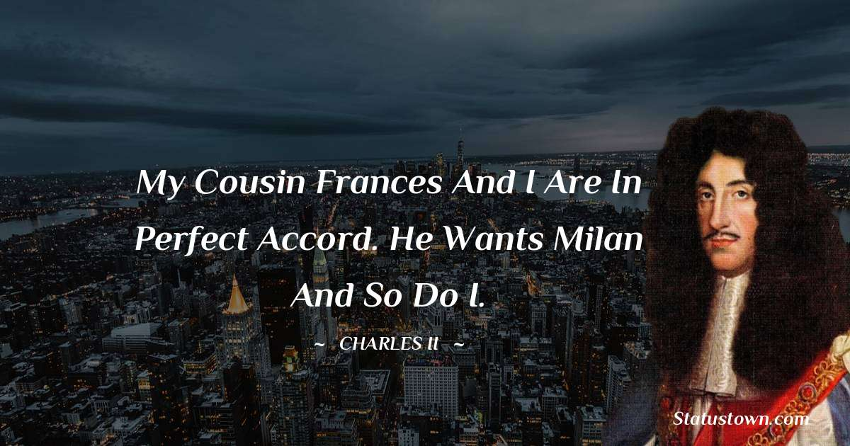 charles ii  Inspirational Quotes