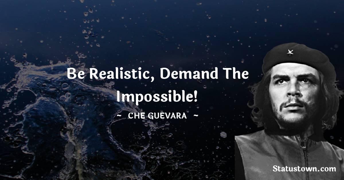 Che Guevara Positive Quotes