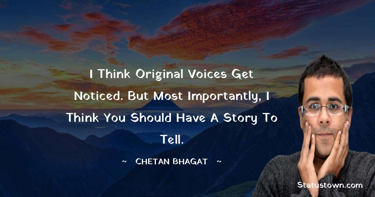 Chetan Bhagat Status
