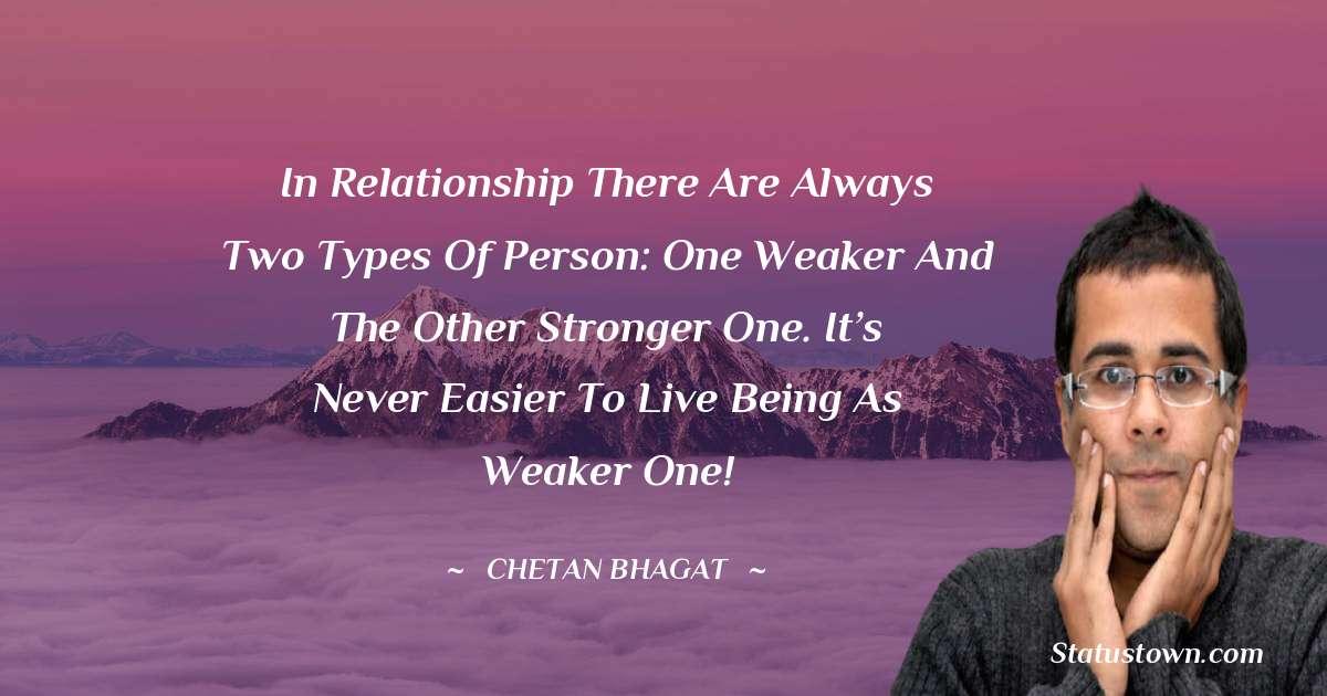 Chetan Bhagat Thoughts