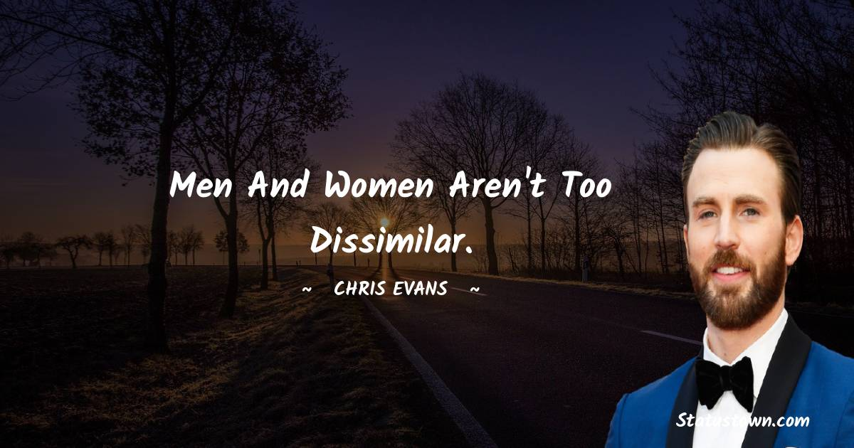 Chris Evans Motivational Quotes