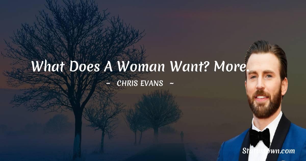Chris Evans Inspirational Quotes