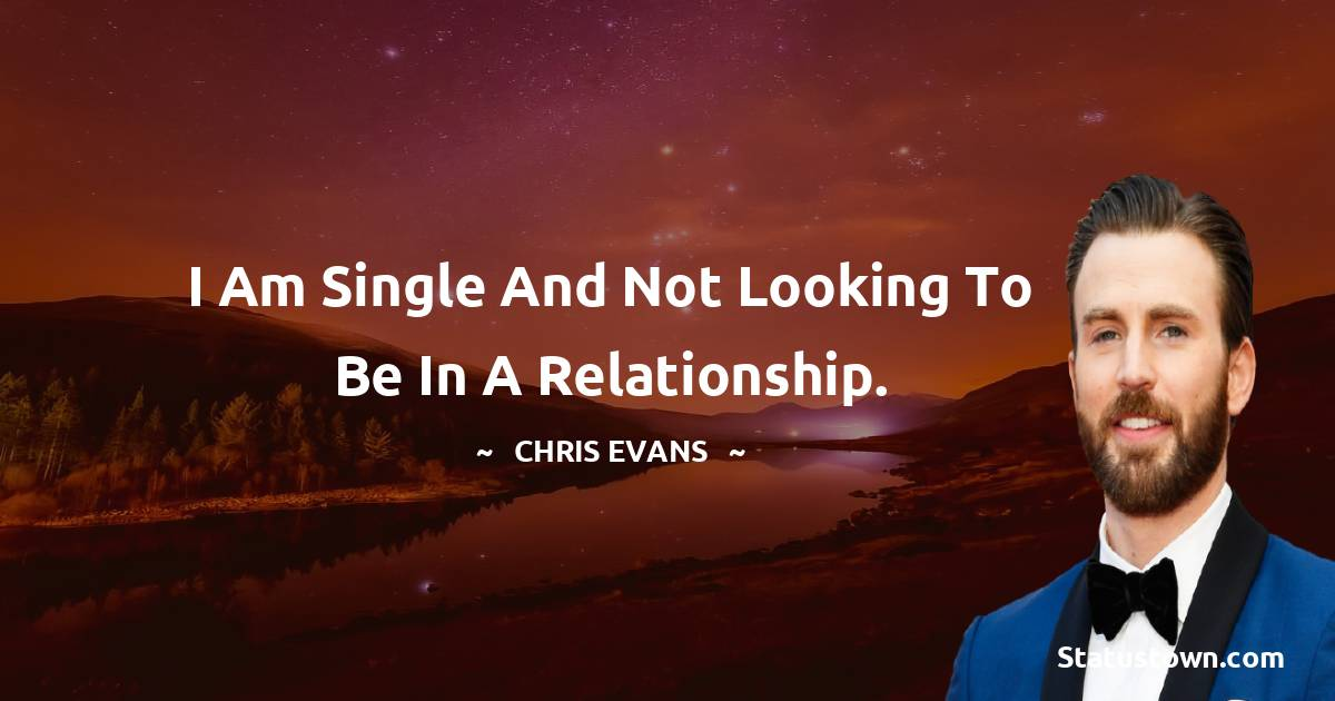 Chris Evans Thoughts