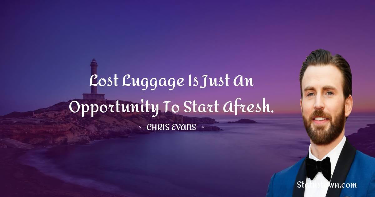 Chris Evans Unique Quotes