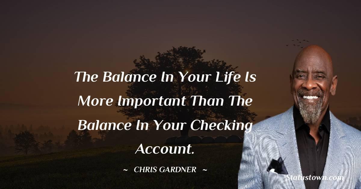 Chris Gardner Status