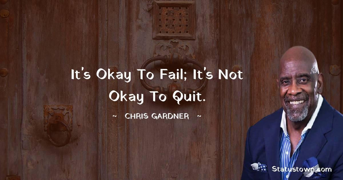Chris Gardner Motivational Quotes