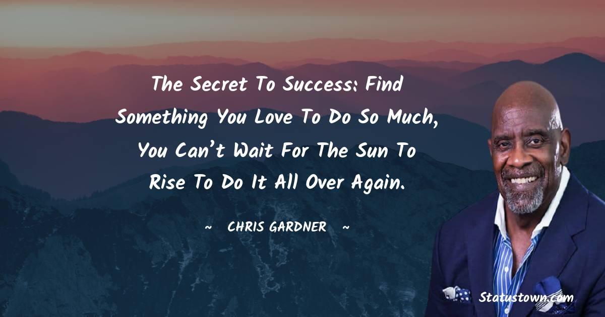 Chris Gardner Inspirational Quotes