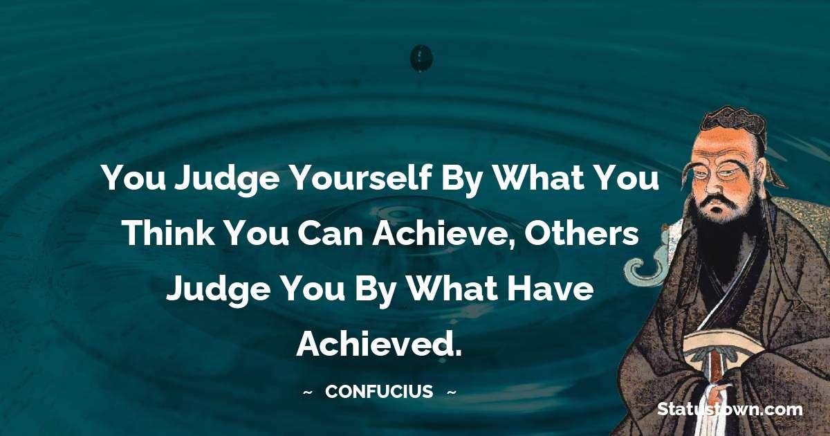 Confucius  Short Quotes