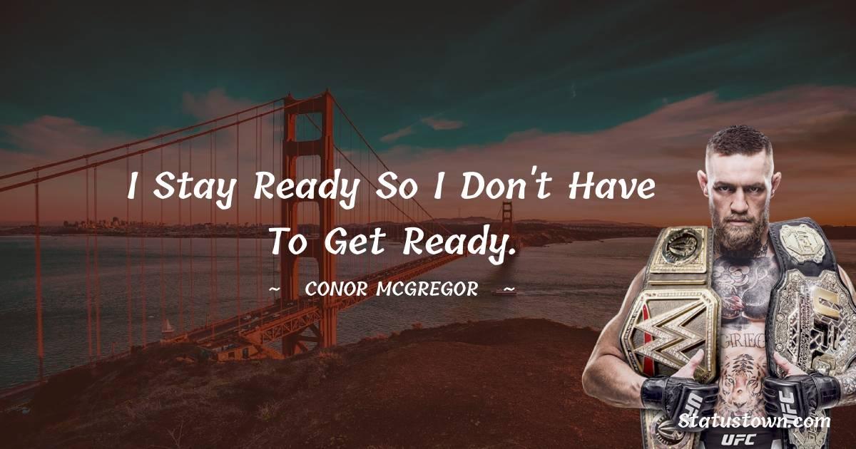 Conor McGregor Short Quotes