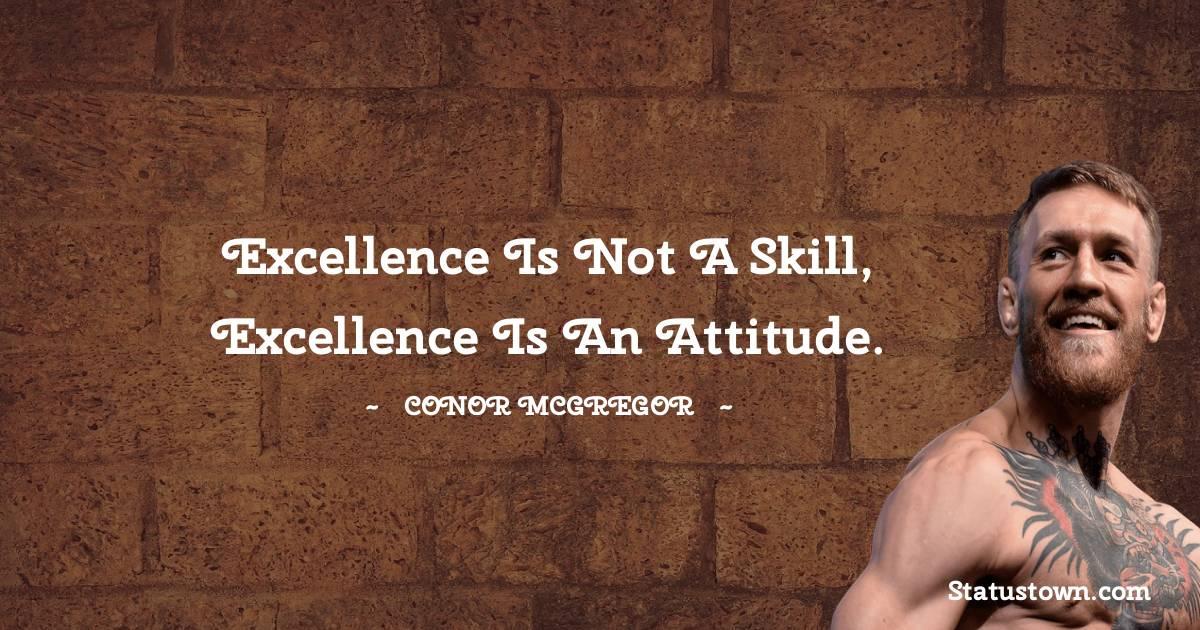 Conor McGregor Positive Quotes