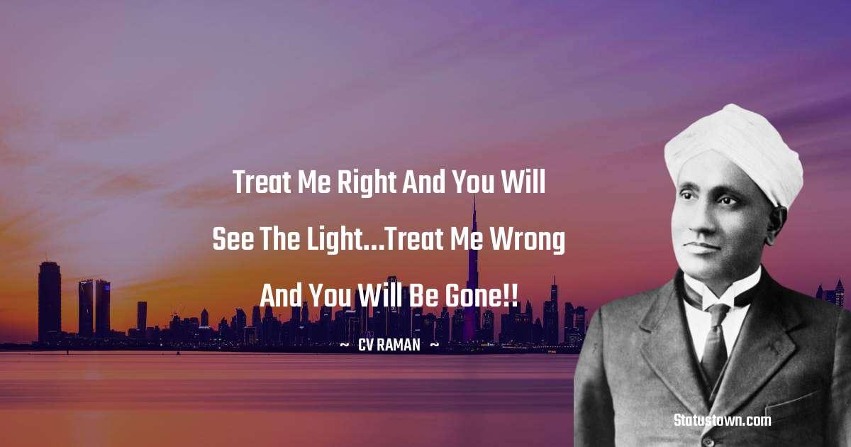 C.V. Raman Inspirational Quotes