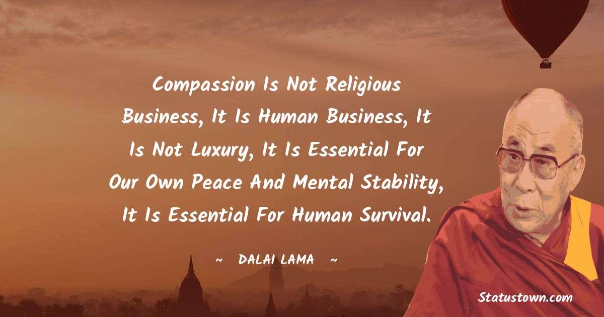 Dalai Lama Positive Thoughts