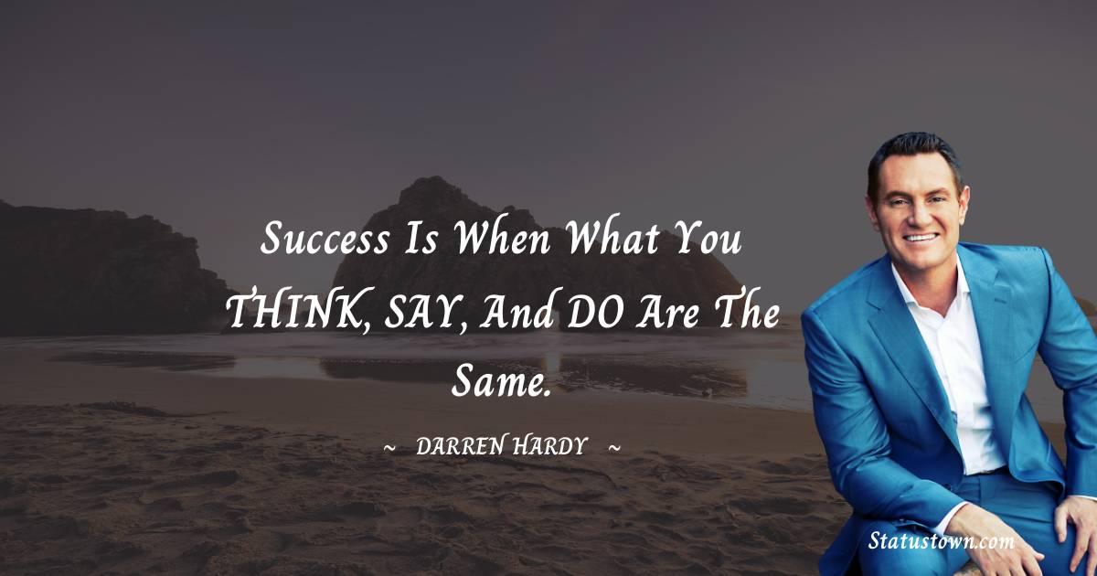 Darren Hardy Short Quotes