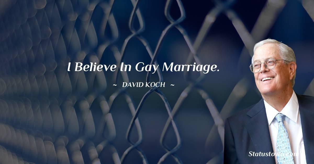 David Koch Status