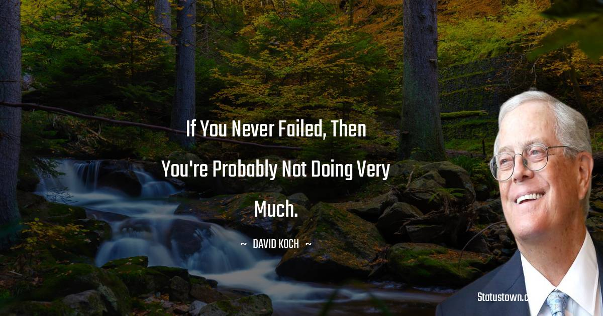 David Koch Quotes