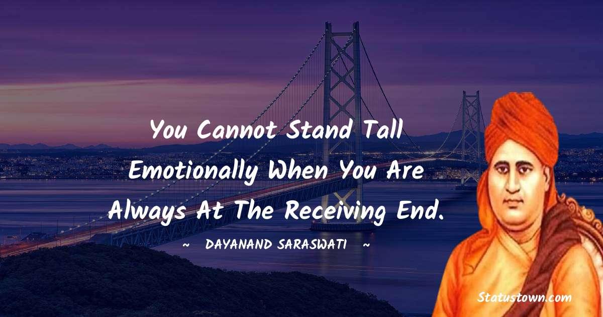 Dayanand Saraswati quotes for success
