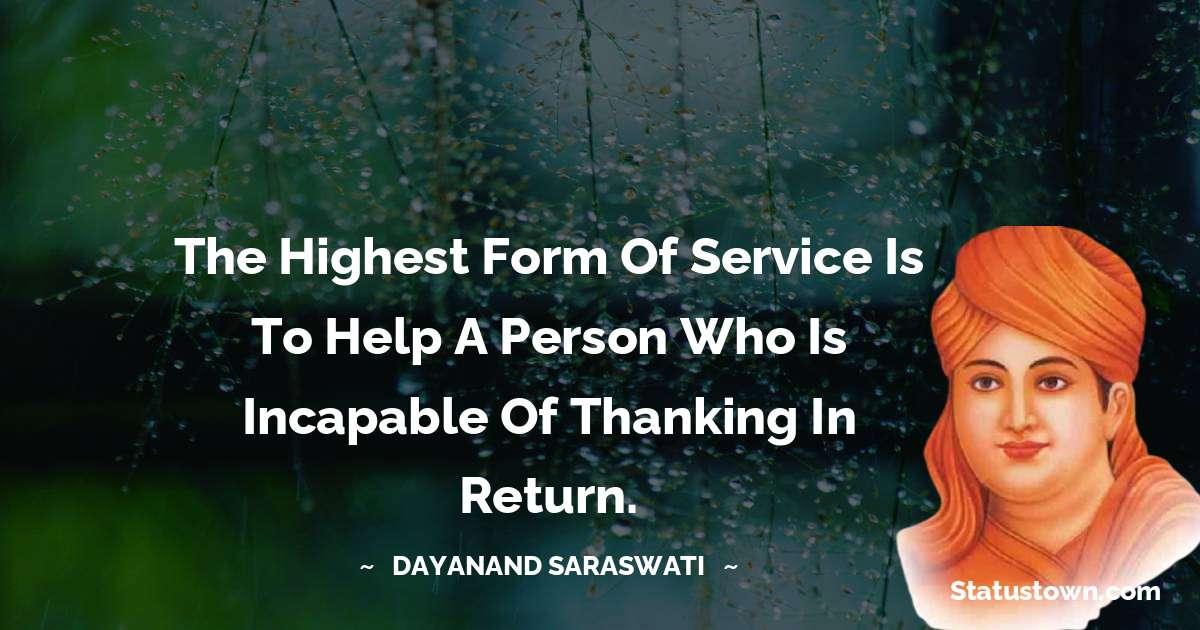 Dayanand Saraswati whatsapp status