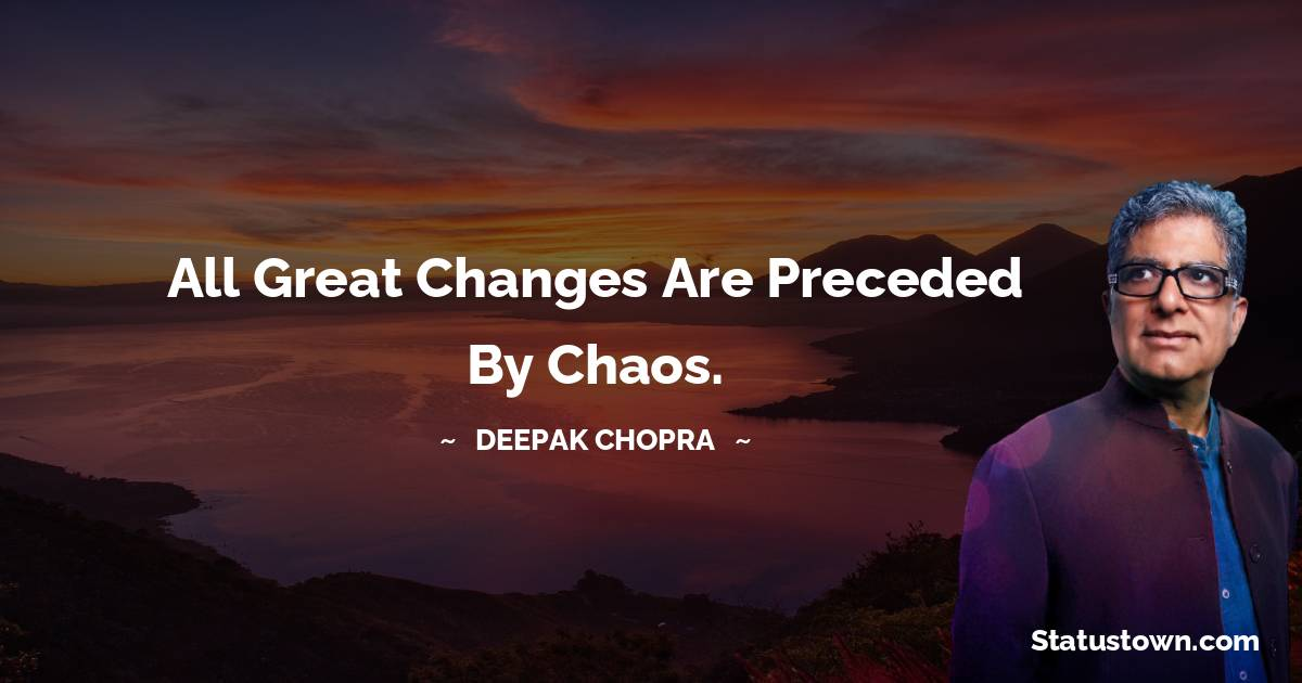 Deepak Chopra Quotes images