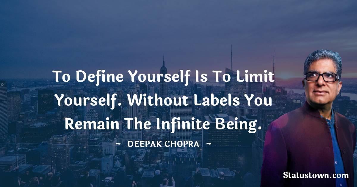 Deepak Chopra Positive Thoughts