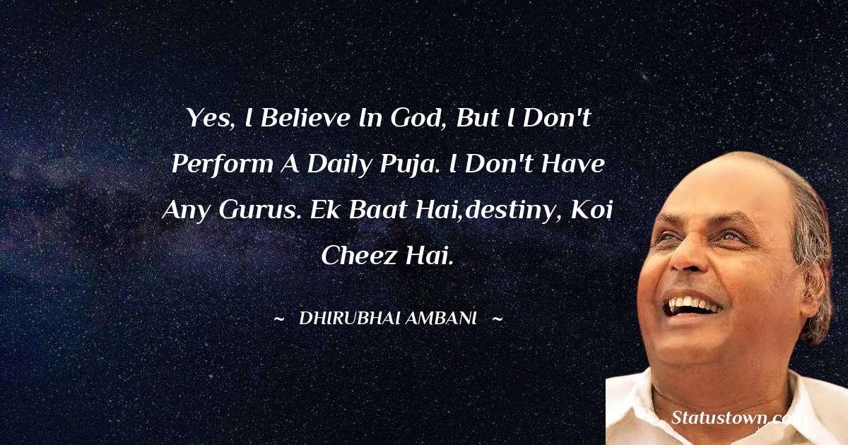 Dheerubhai Ambani Quotes images