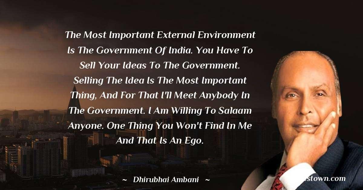 Dheerubhai Ambani Positive Thoughts