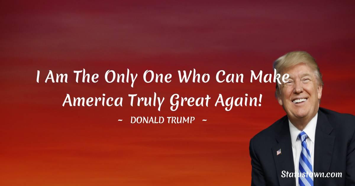 Donald Trump Status