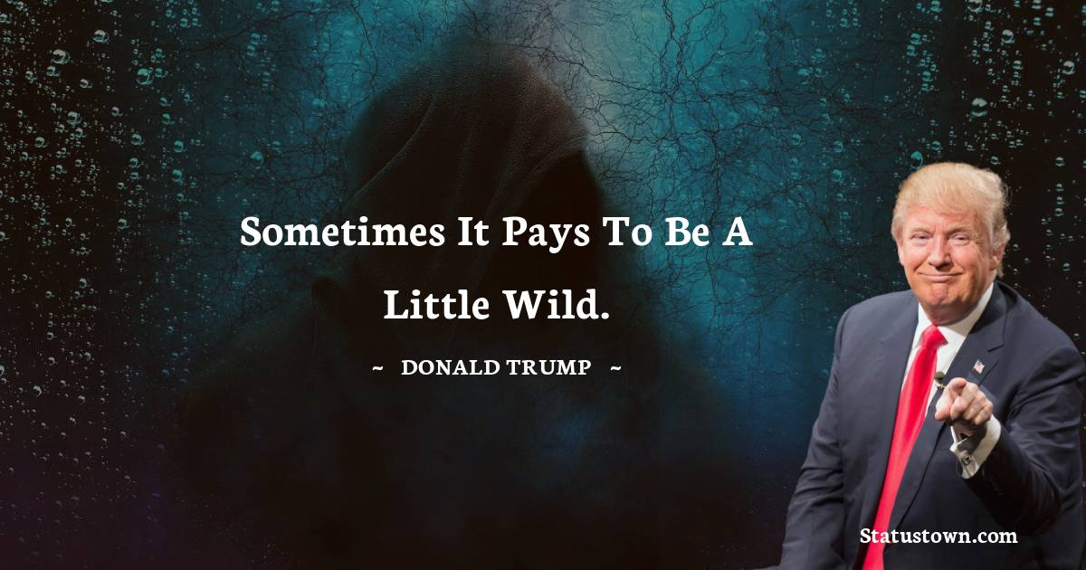 Donald Trump Positive Thoughts