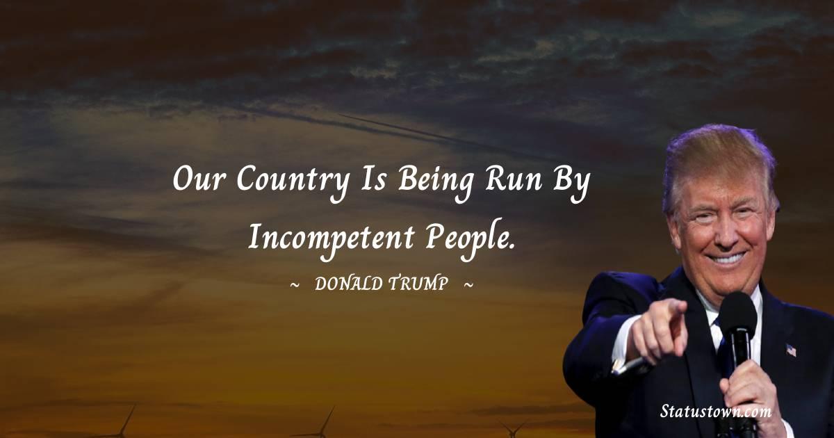 Donald Trump Motivational Quotes