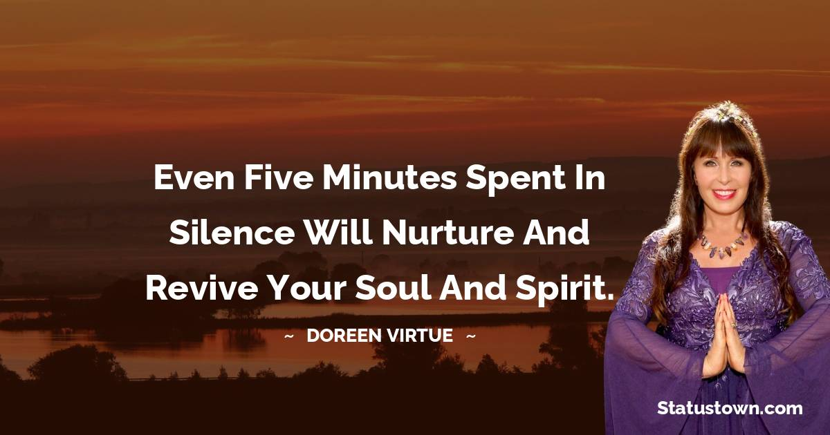 Doreen Virtue Positive Thoughts