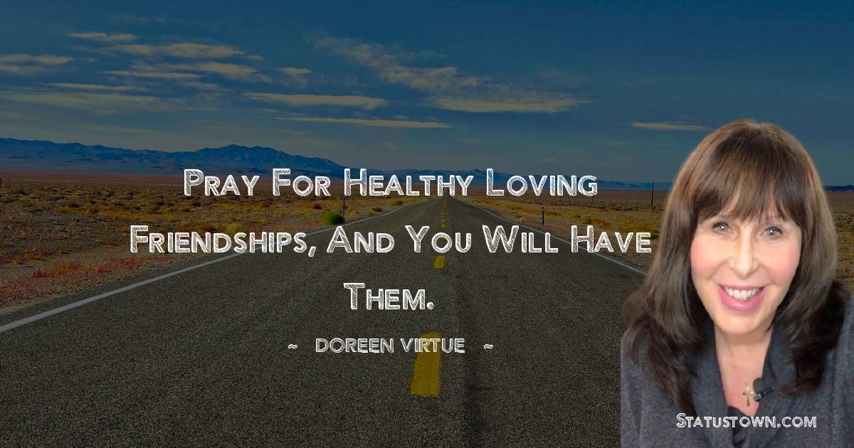 Doreen Virtue Thoughts