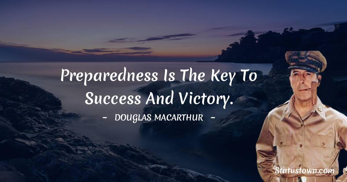 Douglas MacArthur Inspirational Quotes