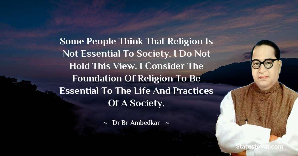 Dr Bhimrao Ramji Ambedkar  Status