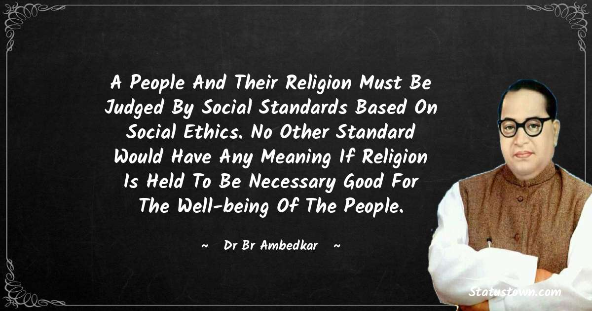 Dr Bhimrao Ramji Ambedkar  Positive Thoughts