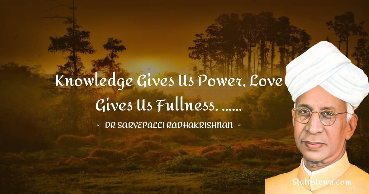 Dr Sarvepalli Radhakrishnan Quotes images