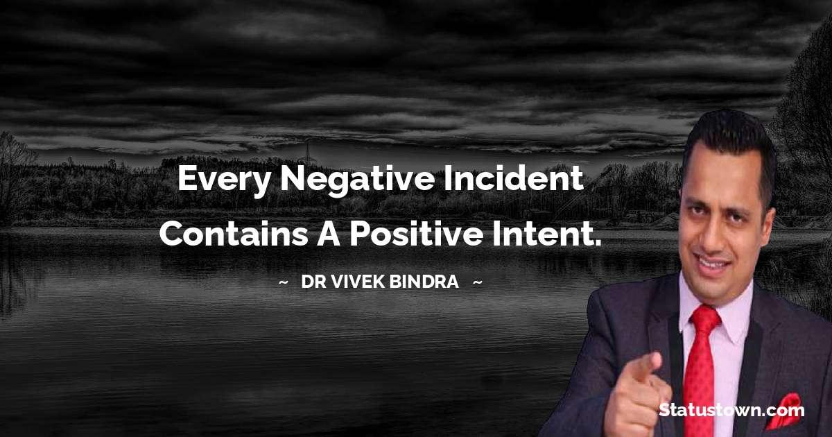 dr vivek bindra Positive Thoughts