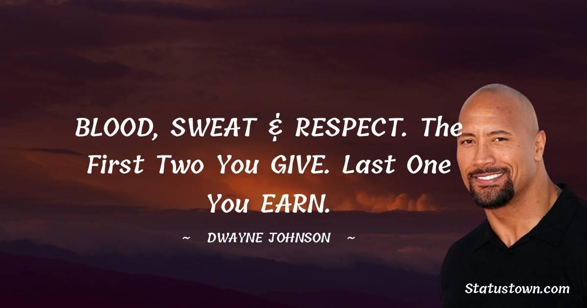 Dwayne Johnson Unique Quotes