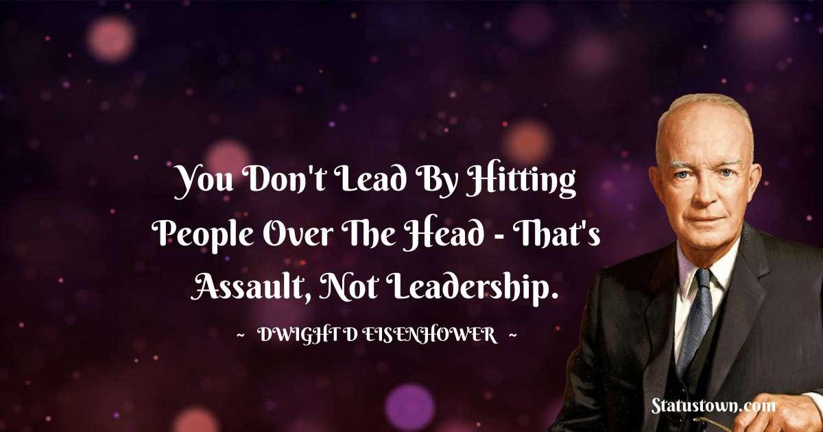 Dwight D. Eisenhower Status