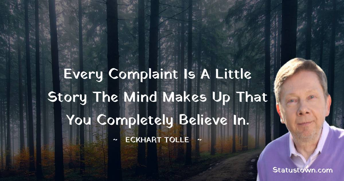 Eckhart Tolle Positive Thoughts