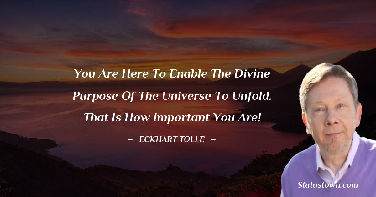Eckhart Tolle Short Quotes